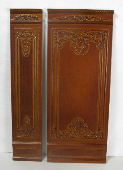 "4"" French Wall Panel, Walnut - Click Image to Close"