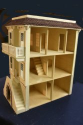 The Palmetto Dollhouse Kit