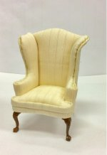 Cream Wing Chair