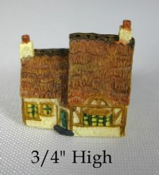 Tucker's Tiny Town Thatched Roof Cottage