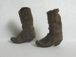 Aged Cowboy Boots