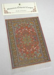 Woven Turkish Carpet Small #1