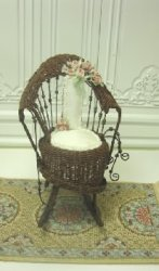 Wicker Rocker by Tillie
