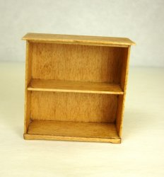 Half Inch Scale Bookcase, Maple
