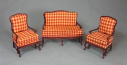 Amise French Country Settee and Chairs
