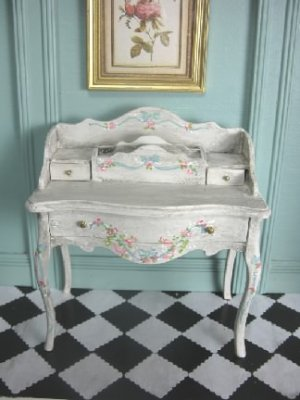 Painted French Country Desk