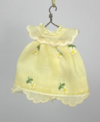 Little Girl's Dress with Embroidery