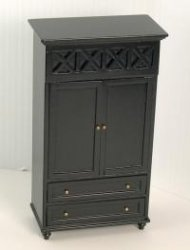 Ashley Armoire, Ebony