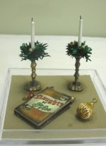 Pair of Holiday Candles with Accessories, #2