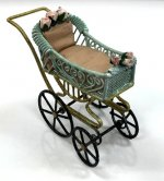 Painted Baby Carriage