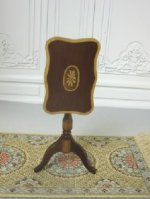 Inlaid Tilt-Top Table