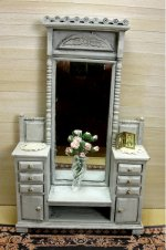 Farmhouse Vanity or Hall Stand