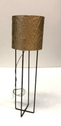 """Astra"" Floor Lamp with Taupe Shade"
