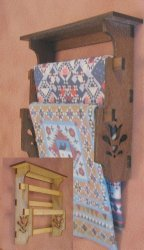 Quilt Wall Rack Kit