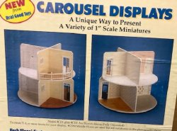 Real Good Toys Carousel Displays, Bottom & Top Floors