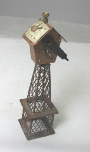 Steampunk Birdhouse, Found Orject Art