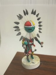Sun Kachina by Gil Maldonado