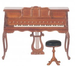 Chopin Spinet Piano with FREE Piano Stool