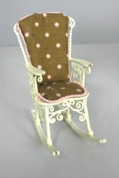 Cream, Pink and Brown Rocker