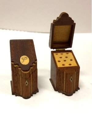 Pair of Inlaid Knife Boxes by David Krupick