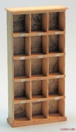 Pigeon Hole Wall Unit