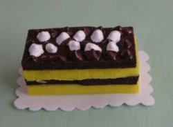 Chocolate and Sponge Cake Pastry #2