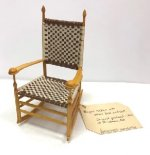 Shaker Woven Rocking Chair #1