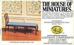 Chippendale Day Bed Kit by House of Miniatures