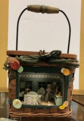 "1/4"" Room in a Basket, Lighted, by Gibbs Goodies"