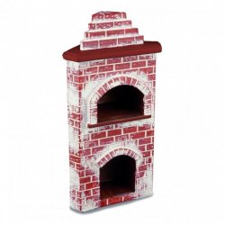 Brick Pizza Oven, Empty
