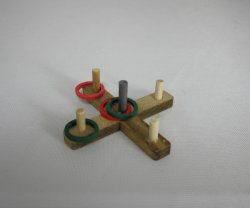 Wooden Ring Toss Game