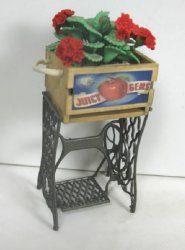 """Repurposed"" Sewing Machine Planter"