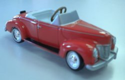 Red Convertible Pedal Car