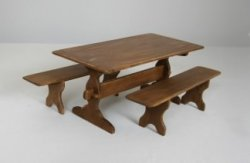 Trestle Table and Benches