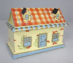 Whimsical Dollhouse Toy Chest