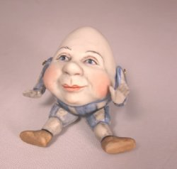 Jointed Porcelain Humpty Dumpty