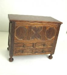 Antique Blanket Chest, Mahogany