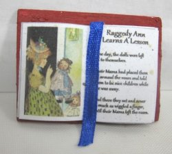 Open Book, Raggedy Ann