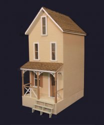 Clarksville Dollhouse Kit