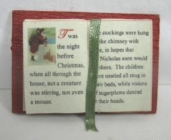Open Book, The Night Before Christmas