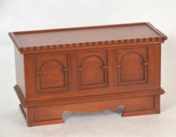 Cherry Dower Chest/Blanket Chest by Earl Barnard