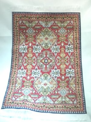 Woven Turkish Carpet, Large #1