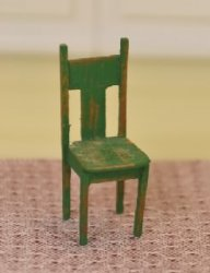 "1/2"" Scale Primitive Children's Chair"
