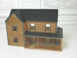 Tiny Two-Story Dollhouse