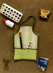Child's Art Apron with Accessories