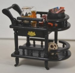 Halloween Tea Cart #1