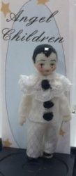 Tiny Pierrot Doll