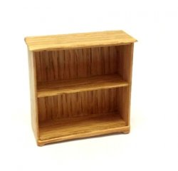 "1/2"" Scale Bookcase, Oak"