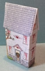 Raggedy Ann & Andy Lithograph House Kit