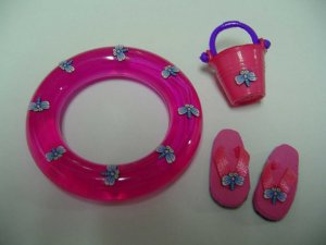 Beach Swim Set, Pink